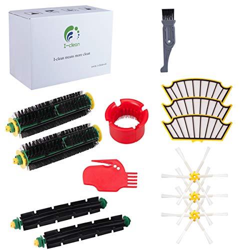 I clean Replenishment Roomba 500 Series Kits, Compatibel with iRobot Roomba 560, 510, 530,595, 535, 540, 580, 610 Vacuum Cleaner...