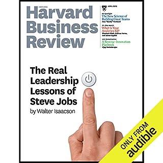 Harvard Business Review, April 2012 audiobook cover art