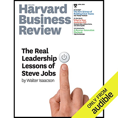 Harvard Business Review, April 2012 audiobook cover art