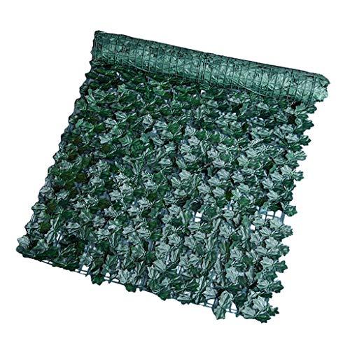 MERIGLARE Decorazione di Tappeti per Piante da Recinzione di Edera Artificiale per La Casa - Foglie di Acero