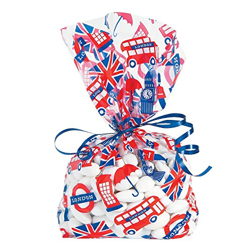 Fun Express - Royal Baby Shower Cello Bags for Baby -...