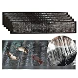 Trapweb 5 trampas de Ratas y ratón Muy eficaz - 120 cm x 28 cm