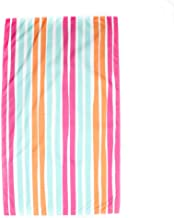 The Royal Standard Aruba Stripe Giant Beach Towel Pink/Orange/Aruba Blue 40x70