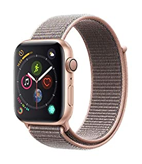 Apple Watch Series 4 (GPS, 44mm) - Gold Aluminum Case with Pink Sand Sport Loop (B07HDGJ2BW) | Amazon price tracker / tracking, Amazon price history charts, Amazon price watches, Amazon price drop alerts