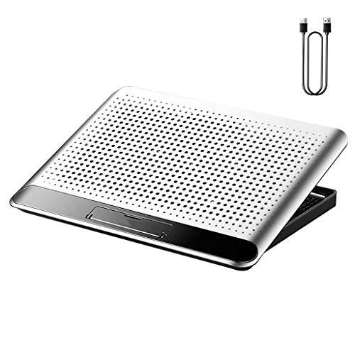 N/A. Suministros de refrigeración para computadora portátil, 6 engranajes ajustable radiador soporte silencioso portátil (3 #)