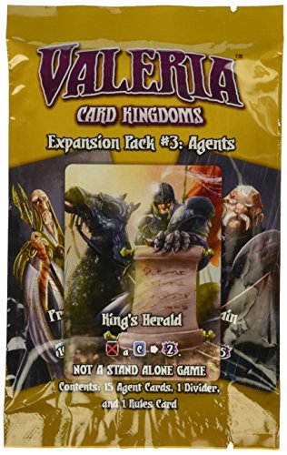 Game Salute DMGVCK011 Expansion Pack #3: Agents Valeria: Card Kingdoms, Mehrfarbig