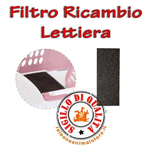 Filtro di Ricambio per lettiera Easy Cat, Zuma, Ginger Imac