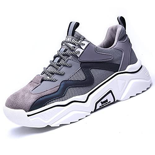 Chaussure de Sécurité Femme Légère et Confortable Respirant Chaussures de Travail avec Embout en Acier Homme Taille 34-46