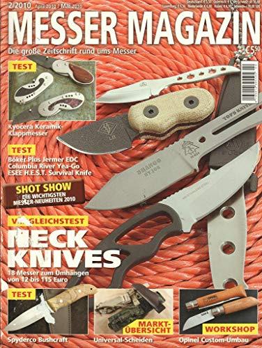 Messer Magazin Nr. 02/2010 Vergleichstest Neckknives