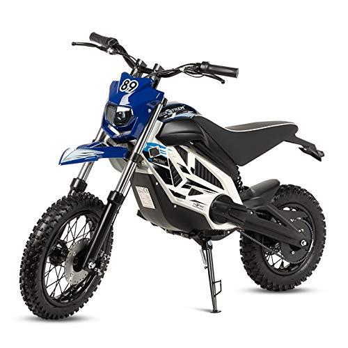 ECOXTREM Mini Moto Cross eléctrica Infantil, Color Azul.