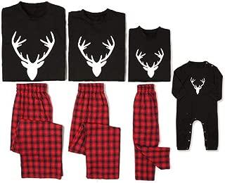 Matching Family Pjs Christmas Entire Family Jammies Cotton Pajamas Sets Best Kids Sleepwear Xmas A2