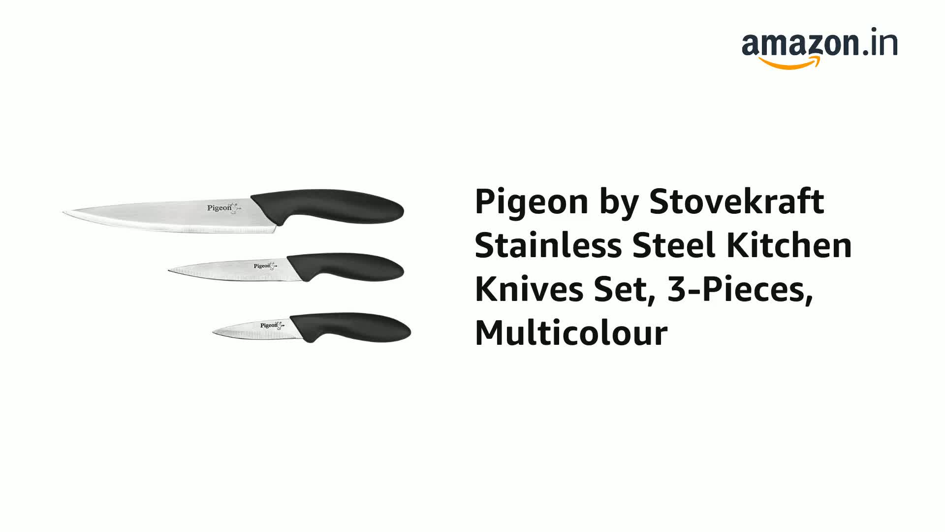 Pigeon-by-Stovekraft-Stainless-Steel-Kitchen-Knives-Set-3-Pieces-Multicolour