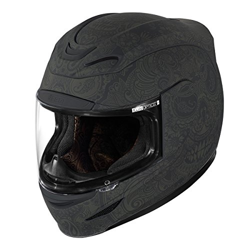 Icon Airmada Chantilly Helmet (Black, Small)