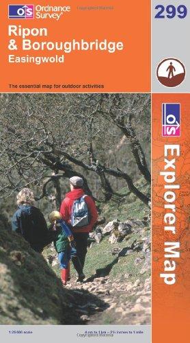 OS Explorer map 299 : Ripon & Boroughbridge