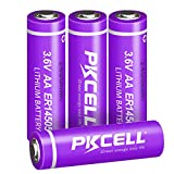 AA ER14505 14505 S14500 Li-SOCl2 Batterie 3,6 V 2400 mAh 4 Stück