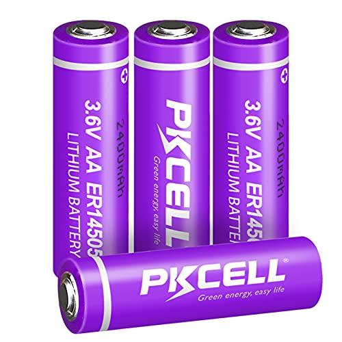 ER14505 14505 S14500 AA 3.6 V 2400 mAh li-socl2 batteria 4 Pezzi