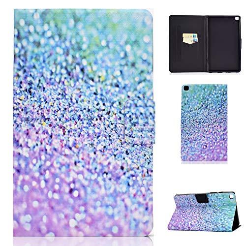 Accessories Family Hülle für Samsung Galaxy Tab A 8.0 2019(SM-T290/T295/T297),Ultradünne Lederhülle mit Kartenfächern und Verstellbaren Blickwinkeln für Samsung Galaxy Tab A 8.0 Zoll,37#Sand