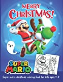 christmas Coloring Book: for kids and adults