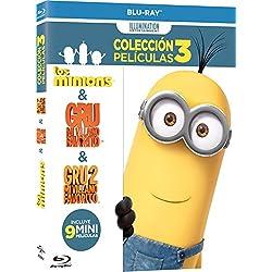 Pack Infantil Gru 1 + Gru 2 + Minions + Atrapa La Bandera + Tadeo Jones Blu-ray: Amazon.es: Cine y Series TV