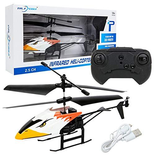 Helicópteros RC, helicóptero de Control Remoto, avión con retención de altitud, helicóptero de Combate de Control Remoto, Juguete de helicóptero RC para Volar en Interiores para niños y Princi