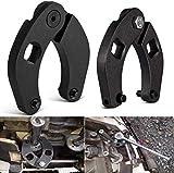 SMALLFATW Wrench Set 1266 &7463 Adjustable Gland Nut Wrench for Hydraulic Cylinder - 2 PCS