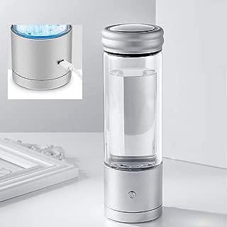 FENGCLOCK Hidr/ógeno Botella De Agua Hidr/ógeno Generaci/ón De Agua De Agua Calidad del Agua para Producir Agua De Hidr/ógeno En 3 Minutos Generador De Electr/ólisis Botella De Agua Hidrogenada