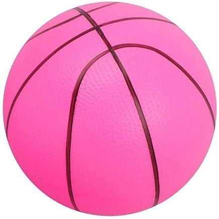 0c5aff9b2aec7 Heart Service Mini Ballon de Basketball en Mousse Souple pour Enfants ou  débutants Rose