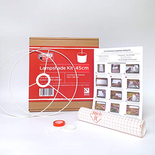 Kit para creación de pantallas para lámparas (45 cm)