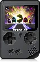 CXYP Consola de Juegos Portátil, 3 Pulgadas Consola de Juegos portátil Pantalla HD Consola de Juegos Retro con 168 Juegos Salida de TV Jugador del Juego Consola de Juegos clásica para Regalo de niños