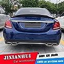 AniFM Heckspoiler Für W205 Spoiler 2015-2018 Mercedes-Benz W205 C-Klasse C180 C200 Spoiler ABS-Kunststoff-Material Auto Heckflügel