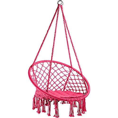 LTJY Amaca da Giardino o casa Poltrona sospesa per 1 Persona in Cotone capacità 150 kg,A