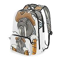 MATÉRIEL SUPÉRIEUR : Le sac à dos d'étudiant est fait de twill weave et ceinture tissée avec le sac de messager, le sac de livre de modèle occasionnel léger doit être adapté à vos enfants. TAILLE APPROPRIÉE : la taille du daypack de voyage est de 12,...