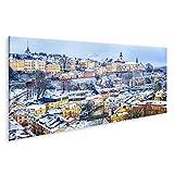 bilderfelix® Bild auf Leinwand Alte Stadt von