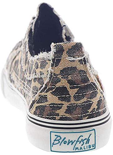 Blowfish Malibu Womens Play Shoes, Natural City Kitty Canvas, 7.5 M US