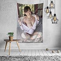 タペストリー 壁掛け 杉原杏璃(すぎはら あんり、Sugihara Anri、杉原 あんり) 壁飾り 家 リビングルーム ベッドルーム 部屋 飾り 装飾布 ホームデコレーション 多機能人気 おしゃれ飾り152X102cm