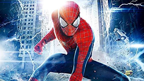 Spiderman Papier Peint Spider-man Fond Mur Avengers Mural Super-héros Cadeau De Noël Chambre D'enfants Salon Tv Fond Papier Peint M