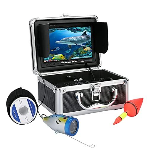 YZLP rivelatore Radar 20m 7'Schermo 1000TVL Videocamera da Pesca Subacquea Videocamera Videocamera Finder Finder per la Pesca del Ghiaccio Marchi da Pesca per la Pesca (Color : G001-20M)