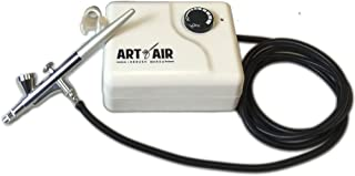 Art of Air Compressor And Airbrush Combo for Professional Airbrush Cosmetic Makeup