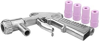 Sandblaster Air Siphon Feed Blast Gun Nozzle Ceramic Tips Abrasive Sand Blasting with 4 Ceramic Nozzle