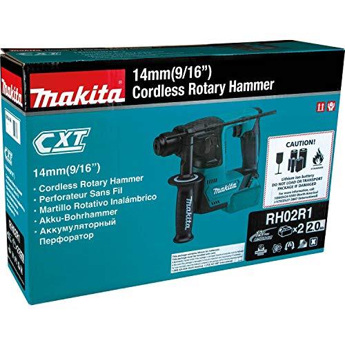 Makita RH02R1 2.0Ah 12V max CXT Lithium-Ion Cordless 9/16