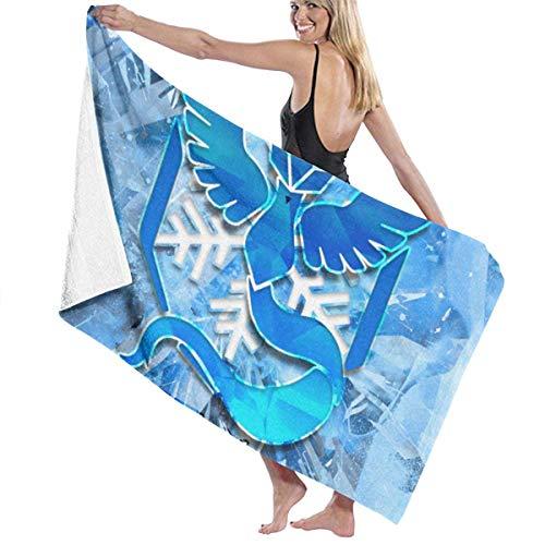 Ice Po-KEM-on - Toalla de playa para piscina, toalla de baño de microfibra de lujo, toalla de secado rápido, manta de viaje, piscina de baño, yoga, camping, gimnasio, deporte