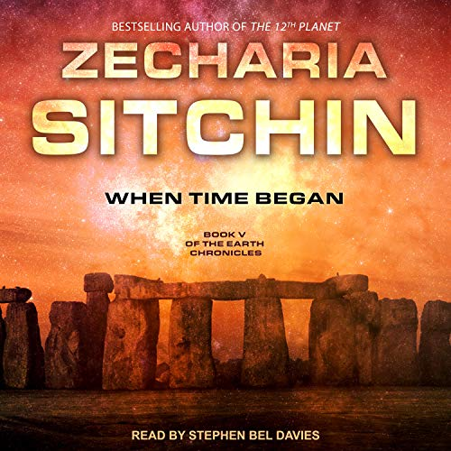 When Time Began audiobook cover art