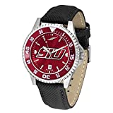 Southern Illinois Salukis他社Anochromeメンズ腕時計–カラーベゼル