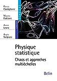 Physique statistique - Chaos et approches multiéchelles