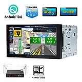 XTRONS Android10.0 2DIN カーナビ 7インチ 車載PC フルセグ 地デジ搭載 8コア 4GB+32GB ゼンリン地図付 アプリ連動操作可 Bluetooth GPS WIFI 4G ミラーリング (TB700SIL)