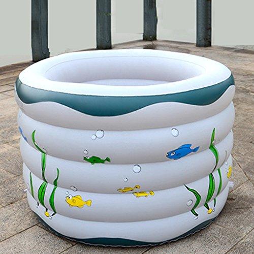 Sunjun& Piscine pour bébés Piscine gonflable Piscine pour enfants Piscine pour enfants Piscine pour piscine à l'océan Piscine blanche
