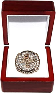 LOS ANGELES LAKERS (Kobe Bryant) 2009 NBA FINALS WORLD CHAMPIONS Rare & Collectible Replica Basketball Gold Championship Ring with Cherrywood Display Box