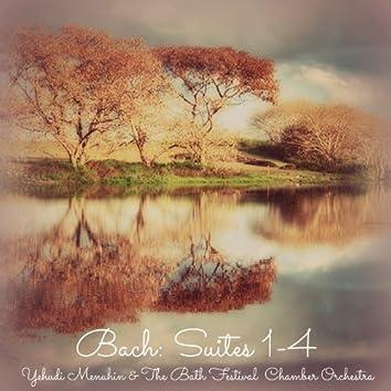 Bach: Suites 1 - 4