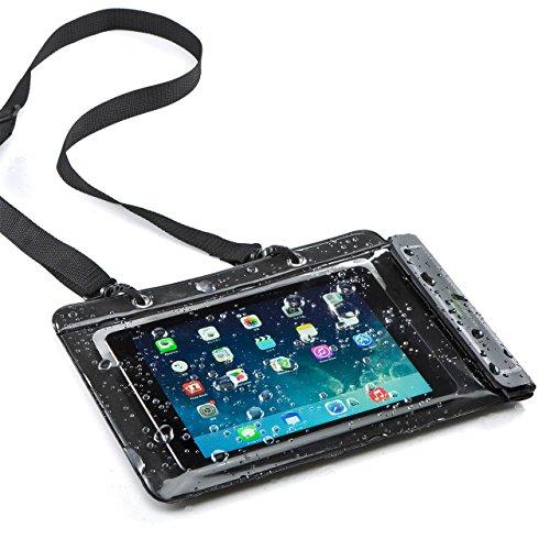 サンワダイレクト iPad タブレットPC 防水ケース お風呂 対応 iPad 10.5インチ汎用 スタンド機能 ストラップ付 200-PDA127