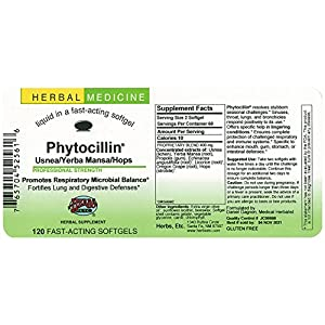 Herbs Etc. – Phytocillin - 120 Softgels